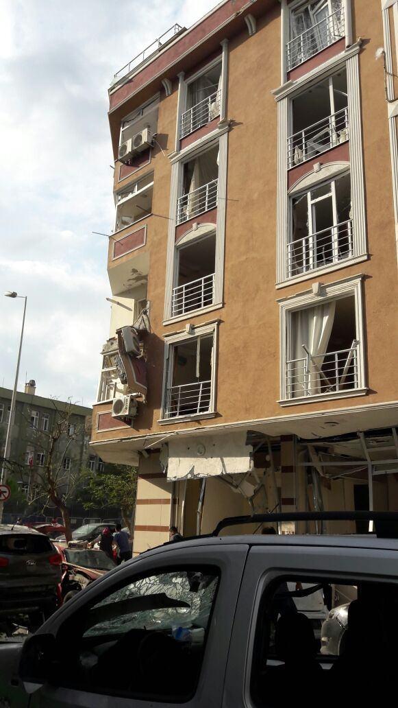 Yenibosna'daki patlamadan ilk görüntüler 10