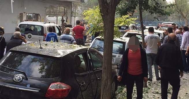 Yenibosna'daki patlamadan ilk görüntüler 9