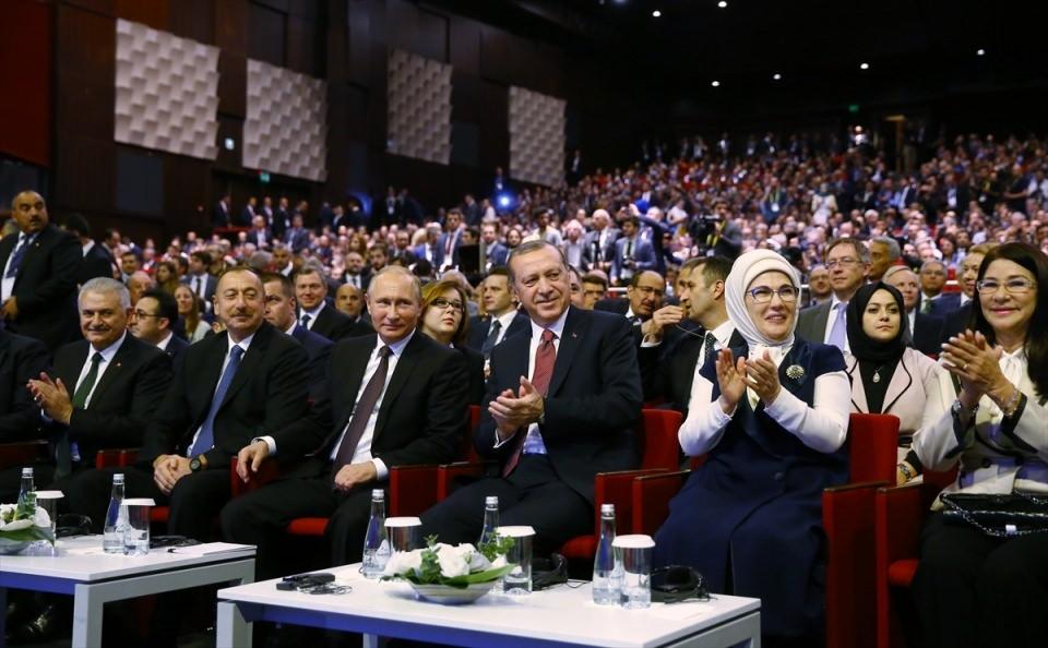 Putin kriz sonrası ilk kez İstanbul'da 1