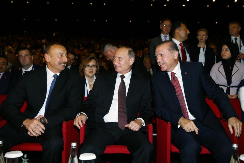 Putin kriz sonrası ilk kez İstanbul'da 10
