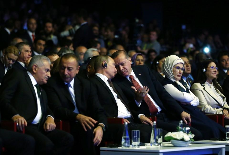 Putin kriz sonrası ilk kez İstanbul'da 11