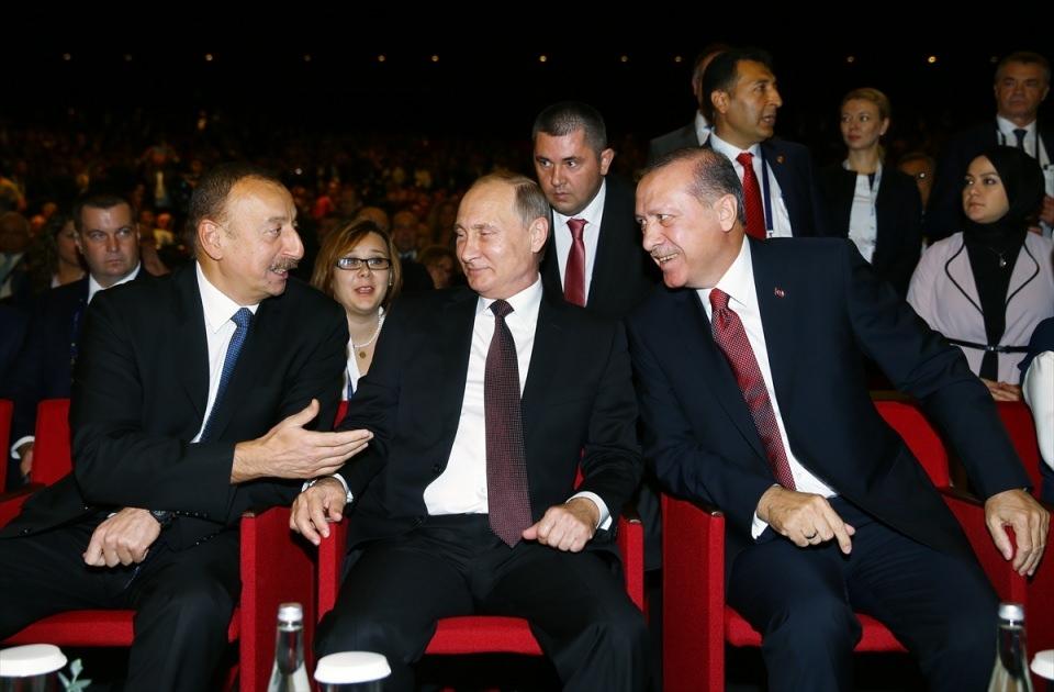 Putin kriz sonrası ilk kez İstanbul'da 12