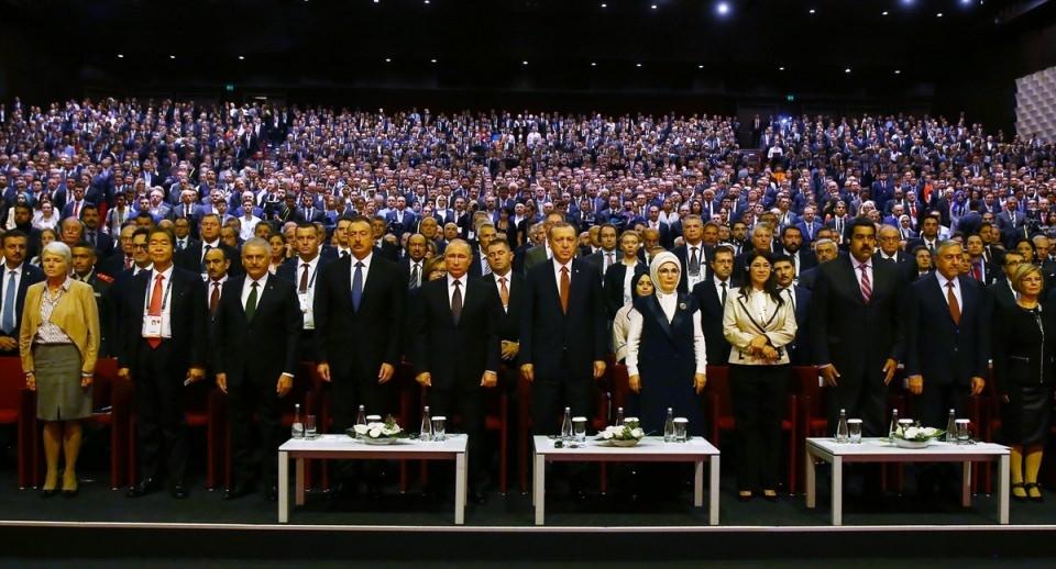Putin kriz sonrası ilk kez İstanbul'da 13