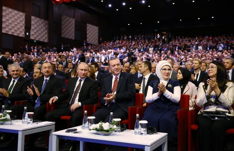 Putin kriz sonrası ilk kez İstanbul'da 14