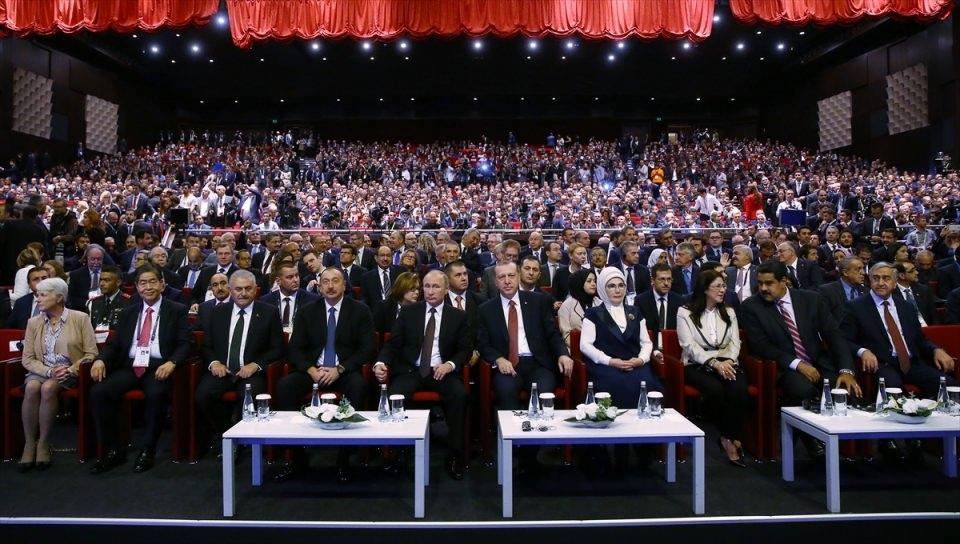 Putin kriz sonrası ilk kez İstanbul'da 15