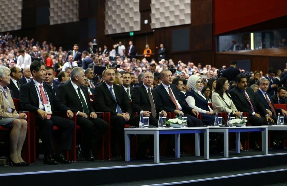 Putin kriz sonrası ilk kez İstanbul'da 18
