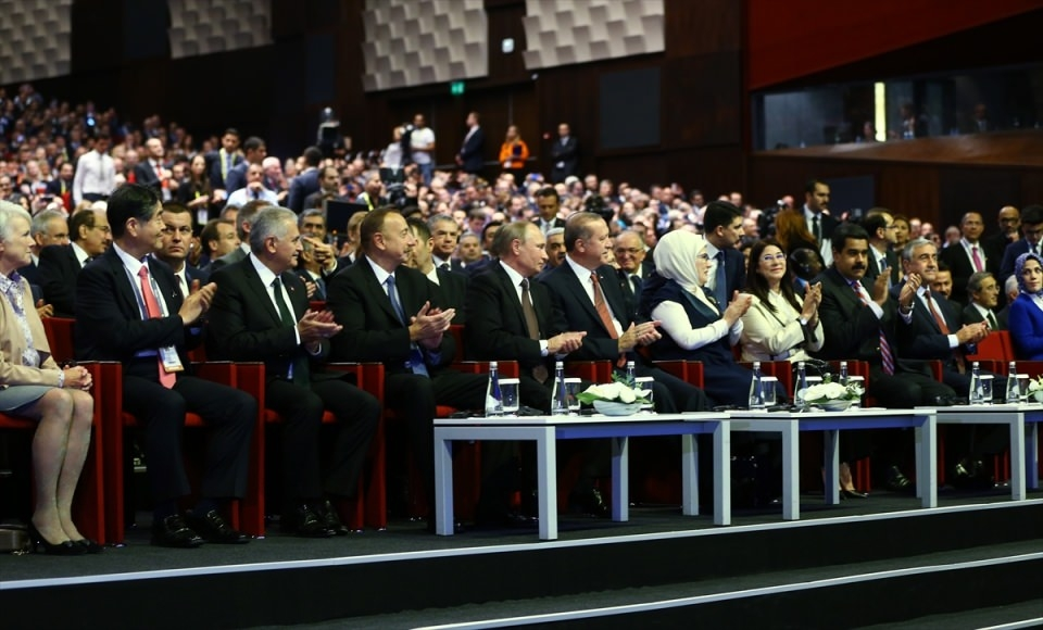 Putin kriz sonrası ilk kez İstanbul'da 19