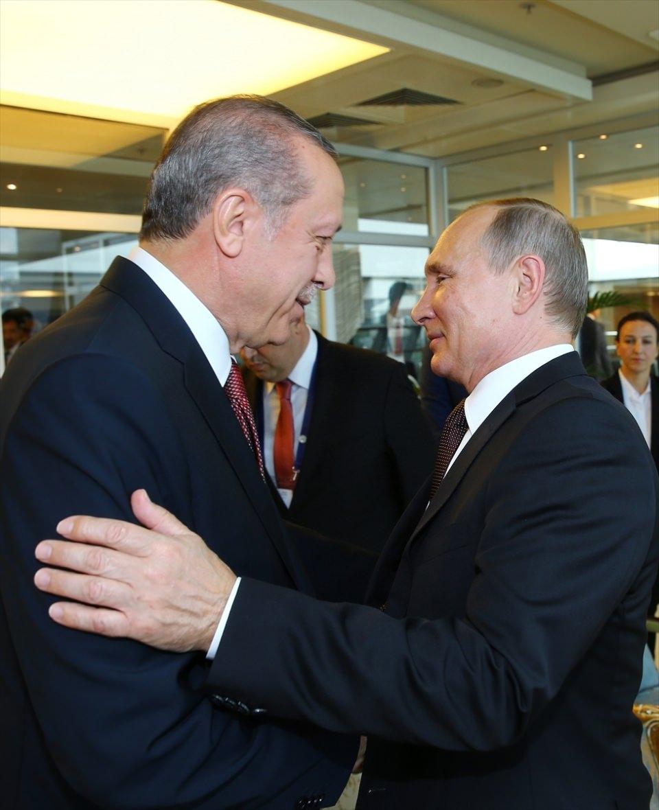 Putin kriz sonrası ilk kez İstanbul'da 2