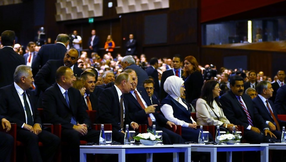 Putin kriz sonrası ilk kez İstanbul'da 20