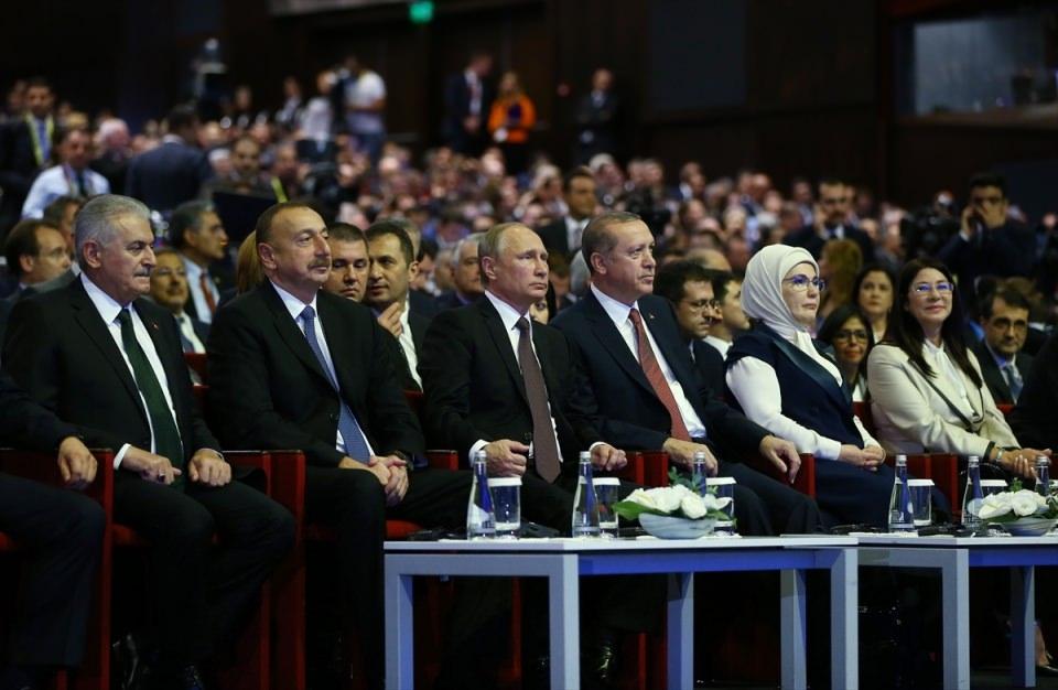 Putin kriz sonrası ilk kez İstanbul'da 21