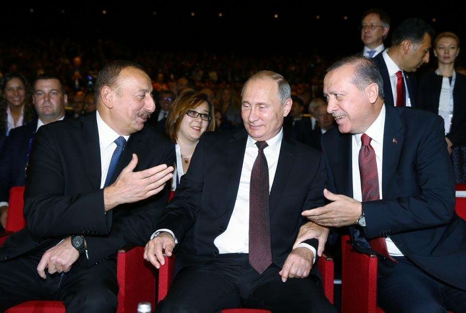 Putin kriz sonrası ilk kez İstanbul'da 25