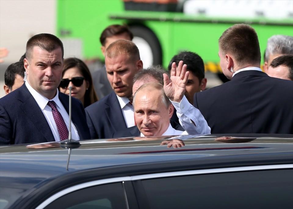 Putin kriz sonrası ilk kez İstanbul'da 34