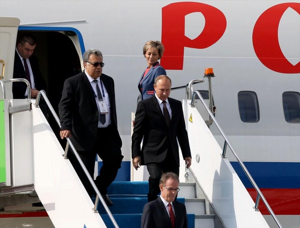 Putin kriz sonrası ilk kez İstanbul'da 35