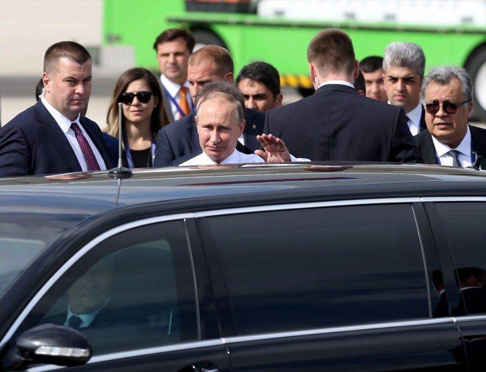 Putin kriz sonrası ilk kez İstanbul'da 39