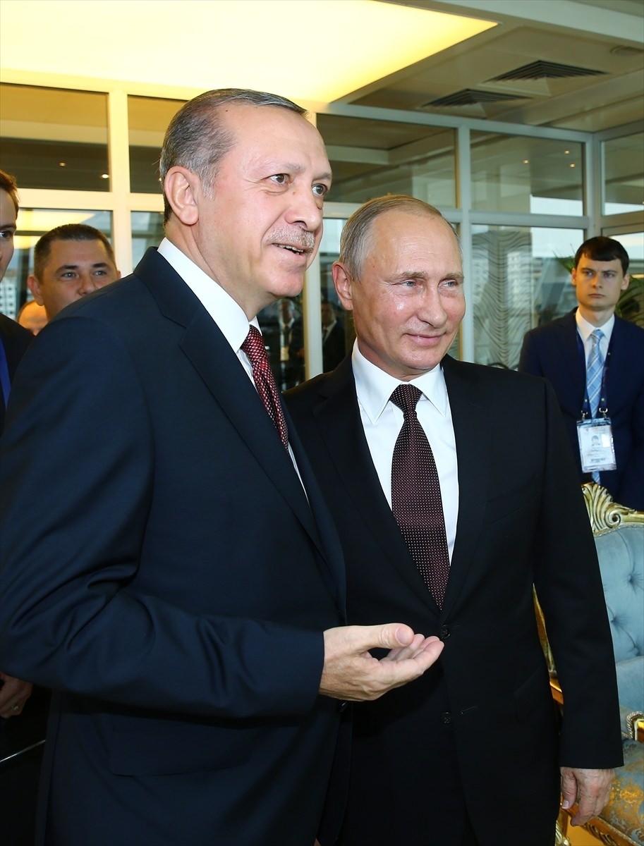 Putin kriz sonrası ilk kez İstanbul'da 4