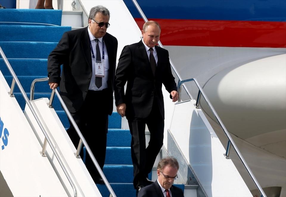 Putin kriz sonrası ilk kez İstanbul'da 46