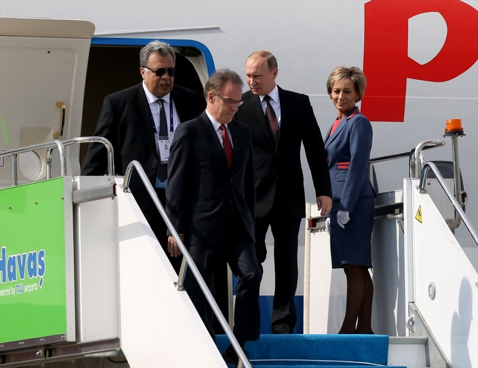 Putin kriz sonrası ilk kez İstanbul'da 47
