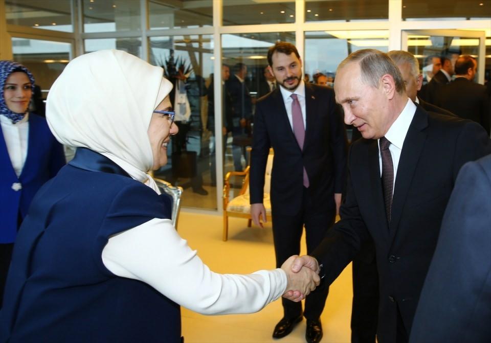Putin kriz sonrası ilk kez İstanbul'da 5