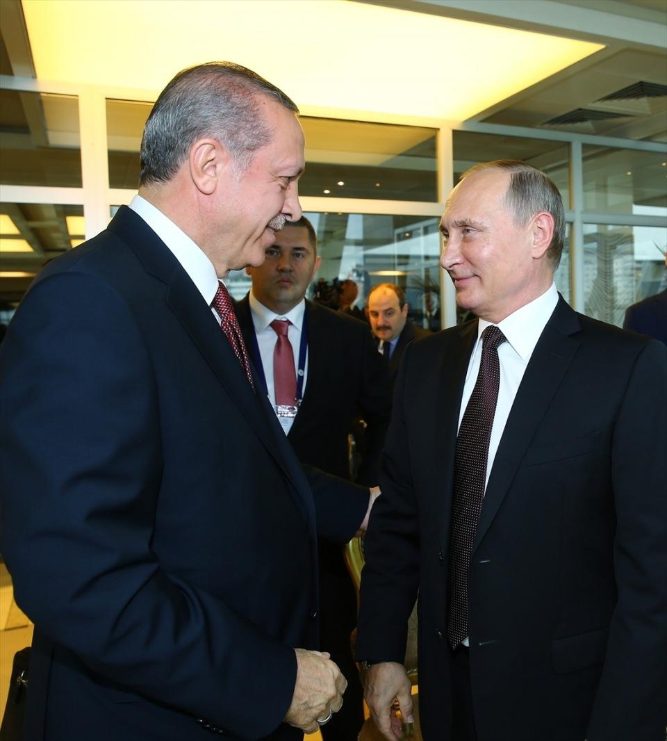 Putin kriz sonrası ilk kez İstanbul'da 6