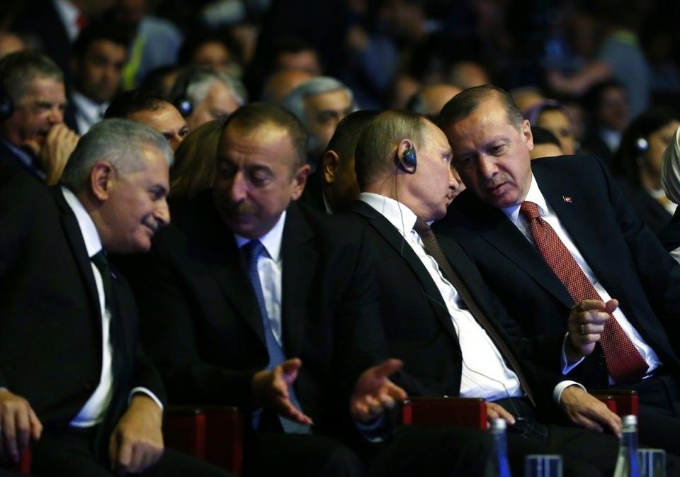 Putin kriz sonrası ilk kez İstanbul'da 9