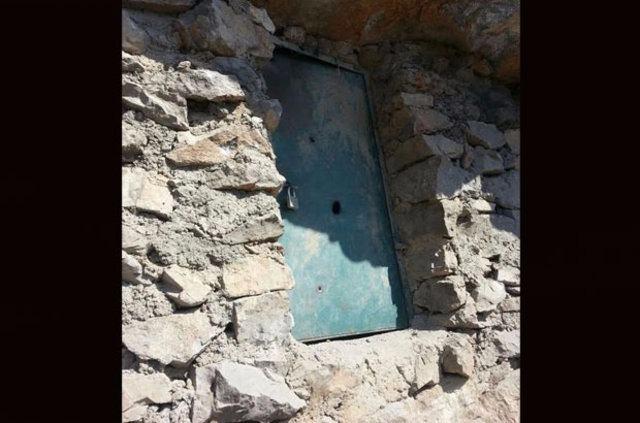 Mağara içerisinde cephanelik bulundu 12