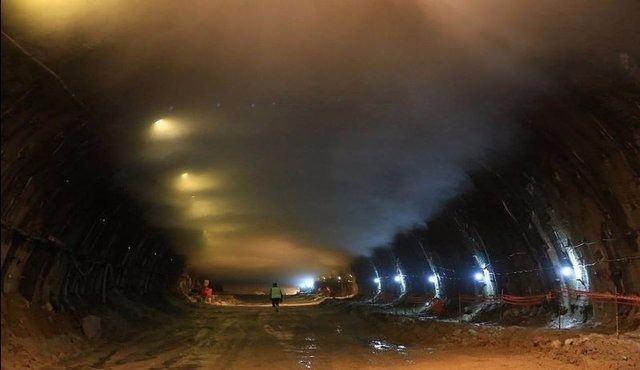 Ovit Tüneli'nde ışık göründü 20