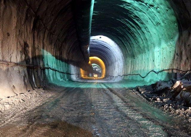 Ovit Tüneli'nde ışık göründü 9