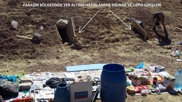 İşte PKK'nın tünelleri 22