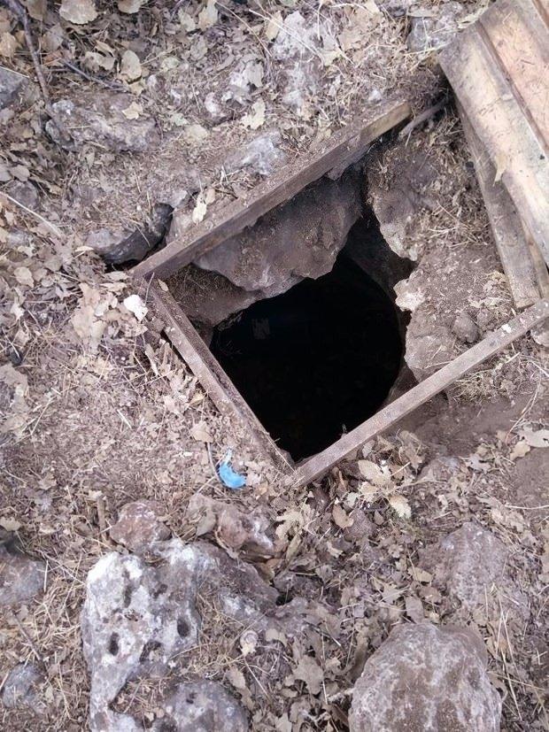 İşte PKK'nın tünelleri 3