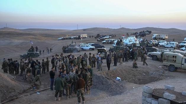 Musul operasyonuna 36 ülkeden 30 bin kişi 15
