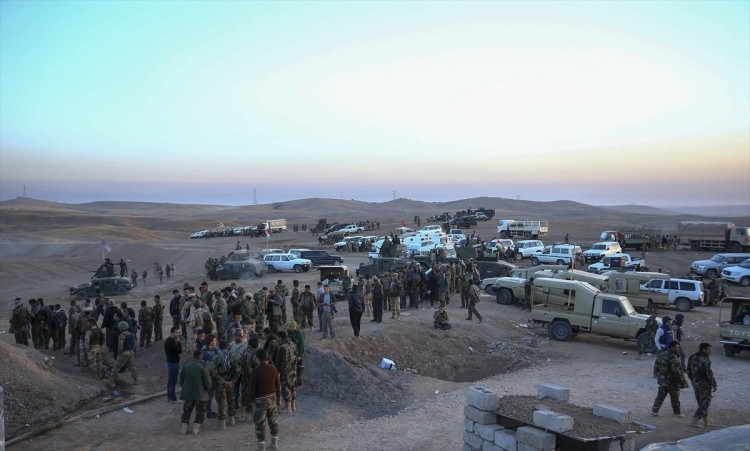 Musul'u kurtarma operasyonunda şiddetli çatışma 45