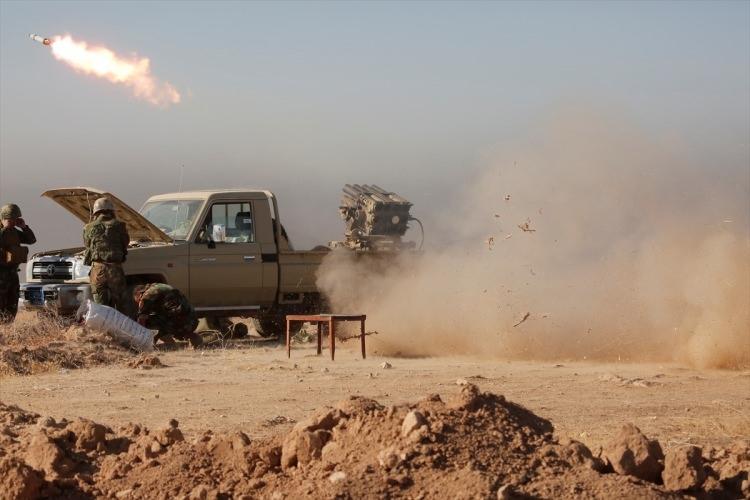 Musul'u kurtarma operasyonunda şiddetli çatışma 64
