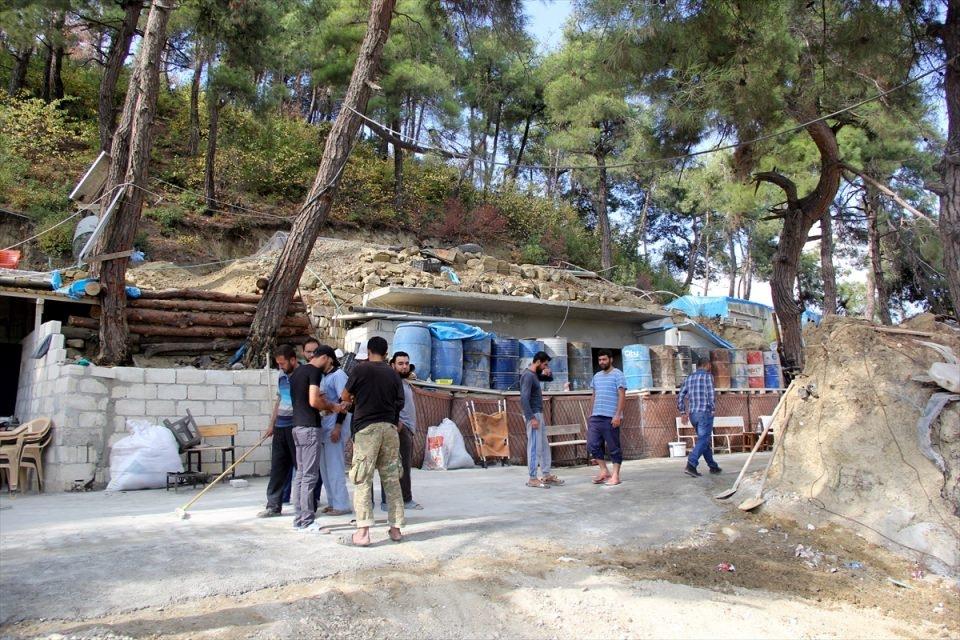 Türkmendağı'nın 'Yer altı hastanesi' 12