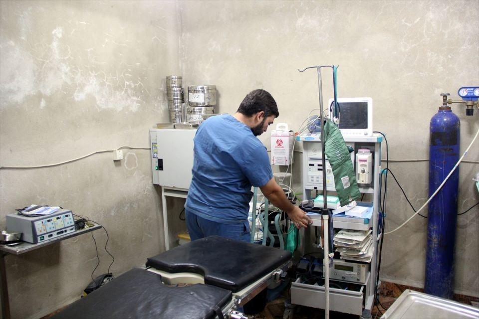 Türkmendağı'nın 'Yer altı hastanesi' 13