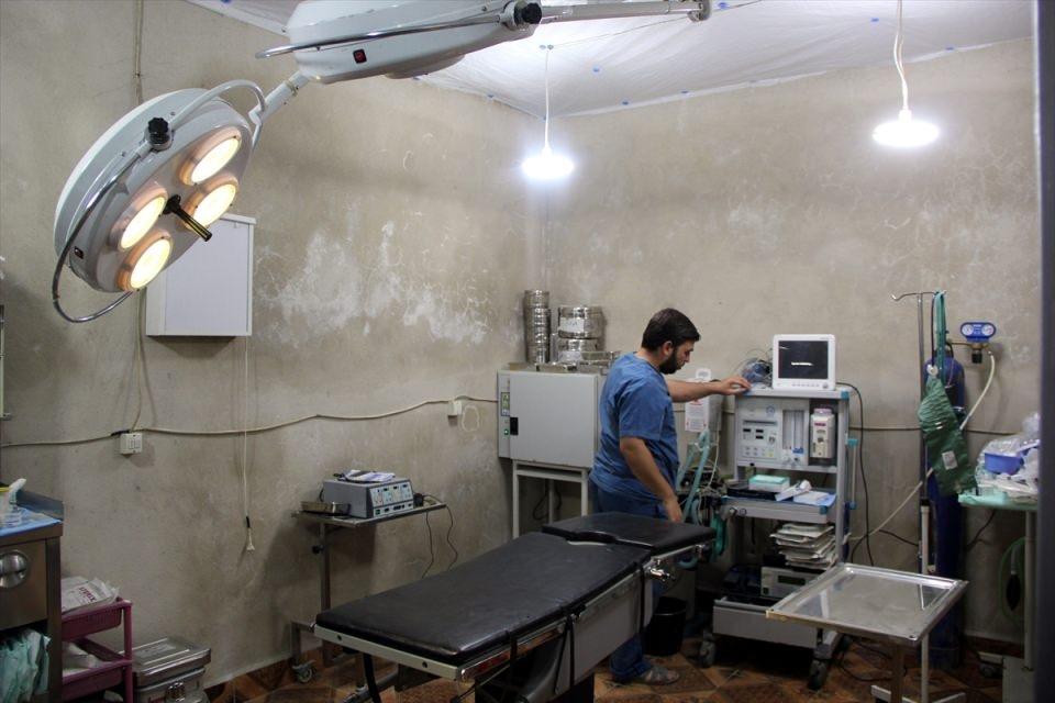 Türkmendağı'nın 'Yer altı hastanesi' 14