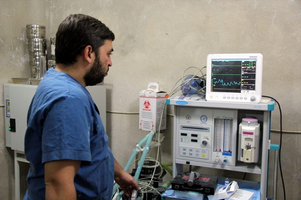 Türkmendağı'nın 'Yer altı hastanesi' 15