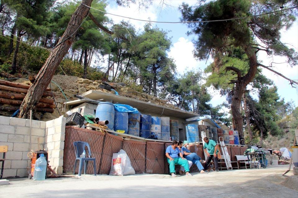 Türkmendağı'nın 'Yer altı hastanesi' 17
