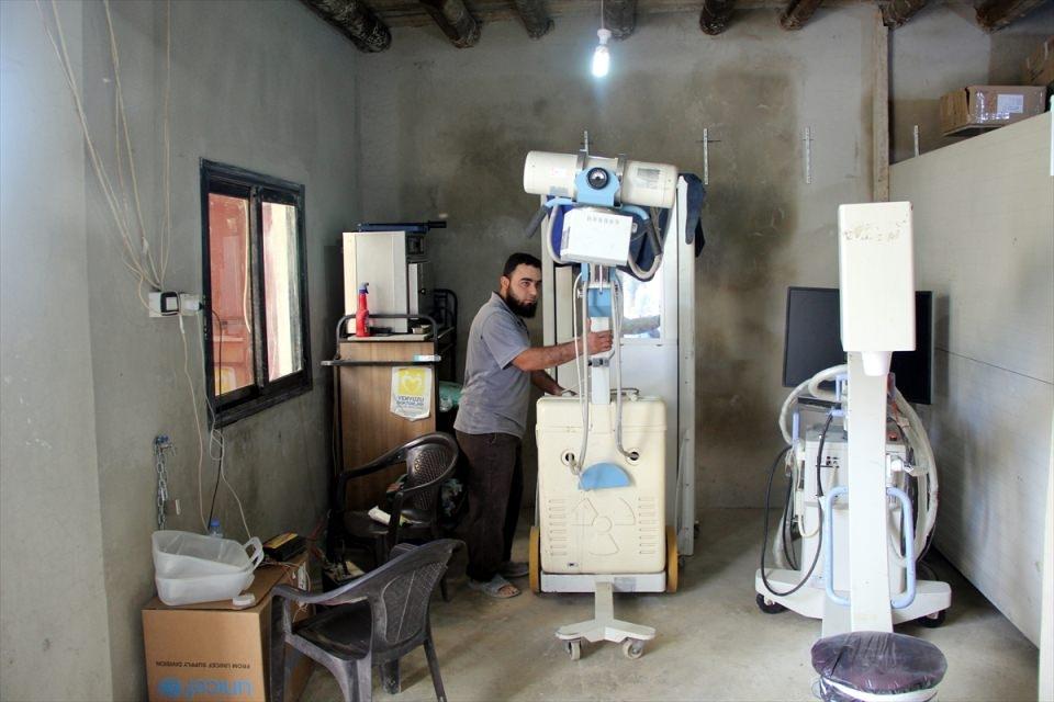 Türkmendağı'nın 'Yer altı hastanesi' 20