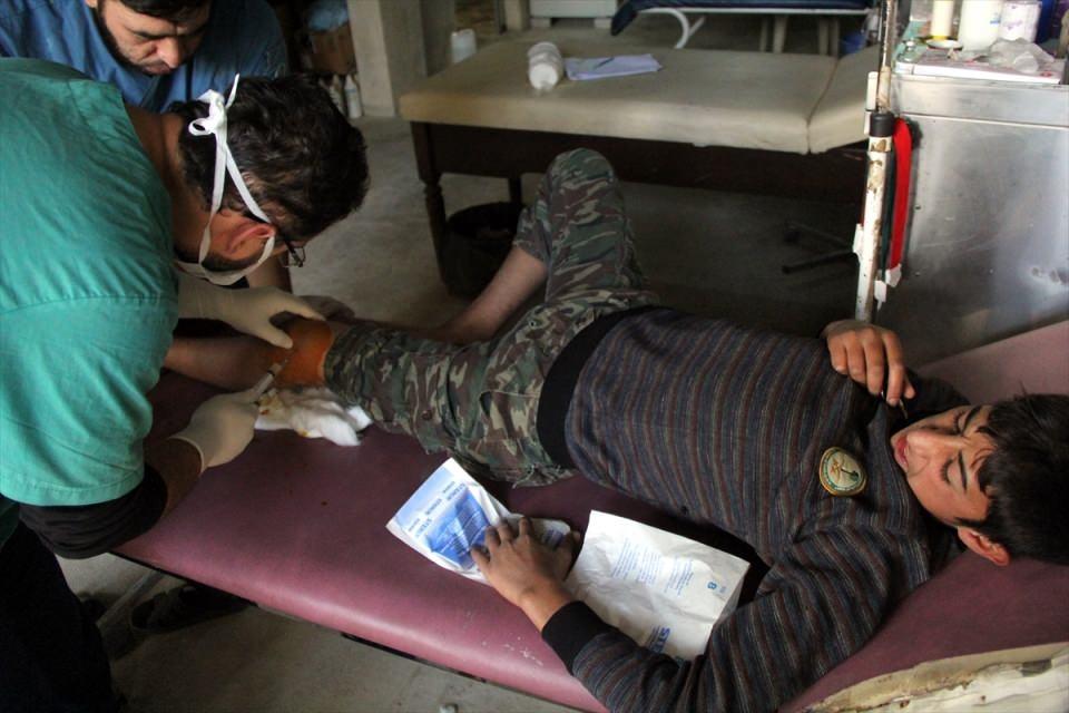 Türkmendağı'nın 'Yer altı hastanesi' 4