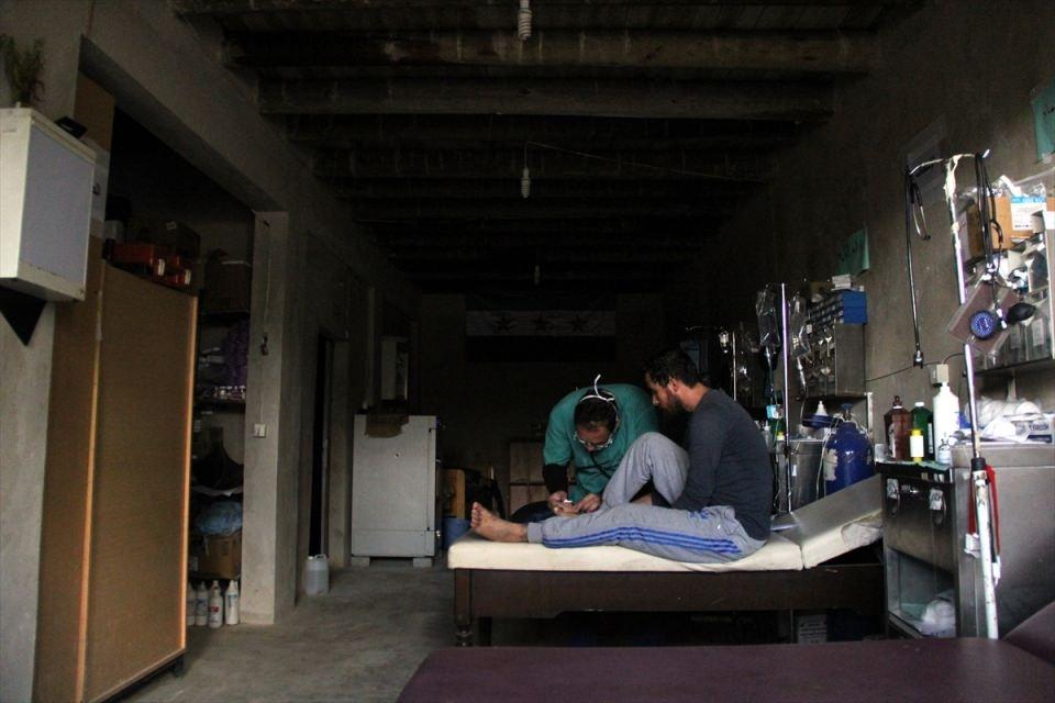 Türkmendağı'nın 'Yer altı hastanesi' 8