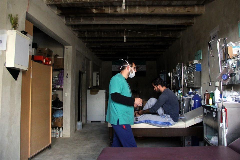 Türkmendağı'nın 'Yer altı hastanesi' 9