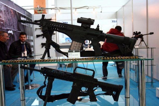 Yüzde 100 yerli silahlar 111