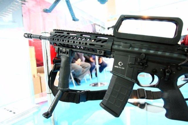 Yüzde 100 yerli silahlar 112