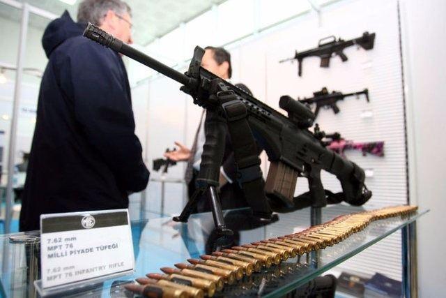 Yüzde 100 yerli silahlar 114