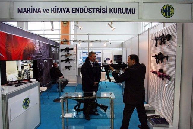 Yüzde 100 yerli silahlar 115