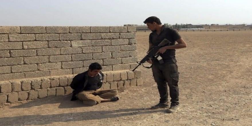DAEŞ'lilerin yakalanma anı