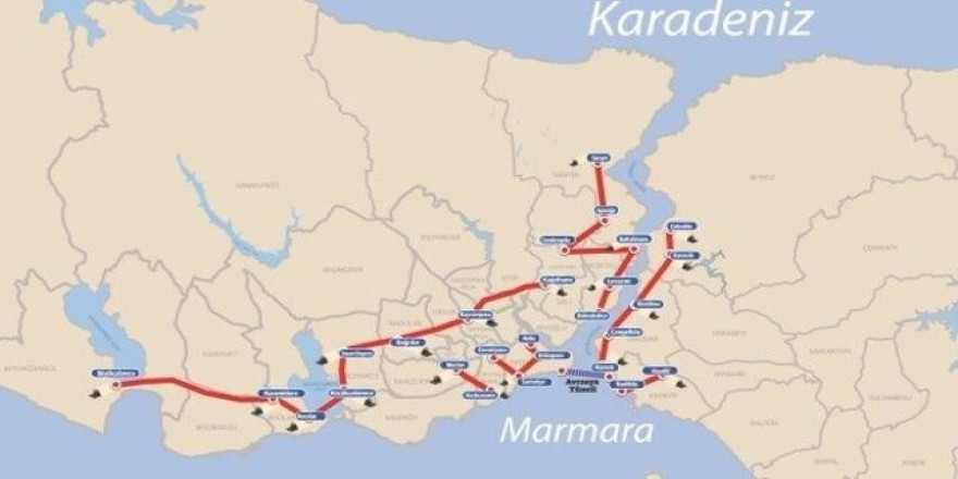 İşte İstanbul'un tünel projelerinin detayları