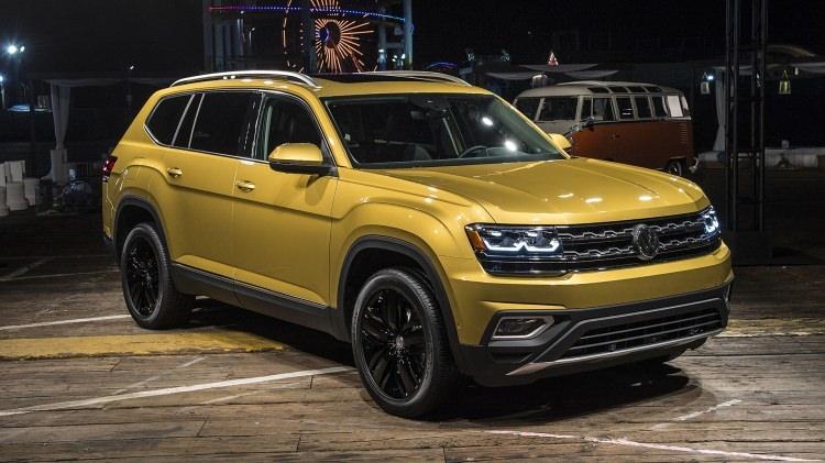 Volkswagen Atlas ortaya çıktı 1