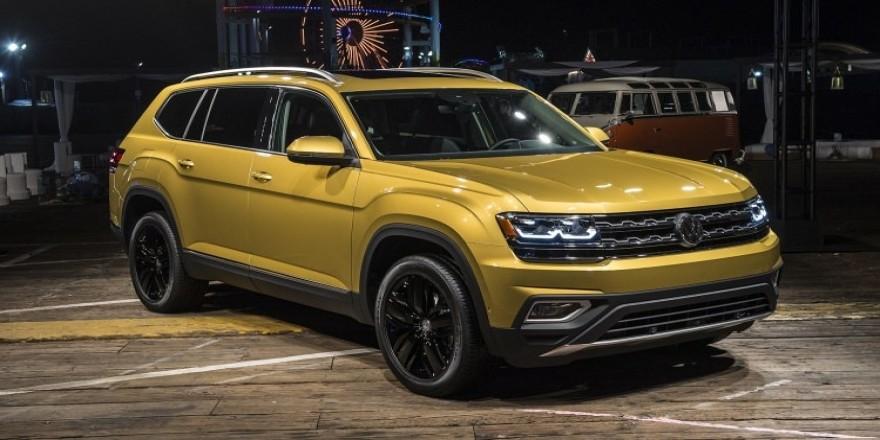 Volkswagen Atlas ortaya çıktı