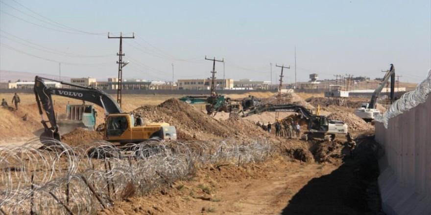Nusaybin'den Suriye'ye açılan tünel